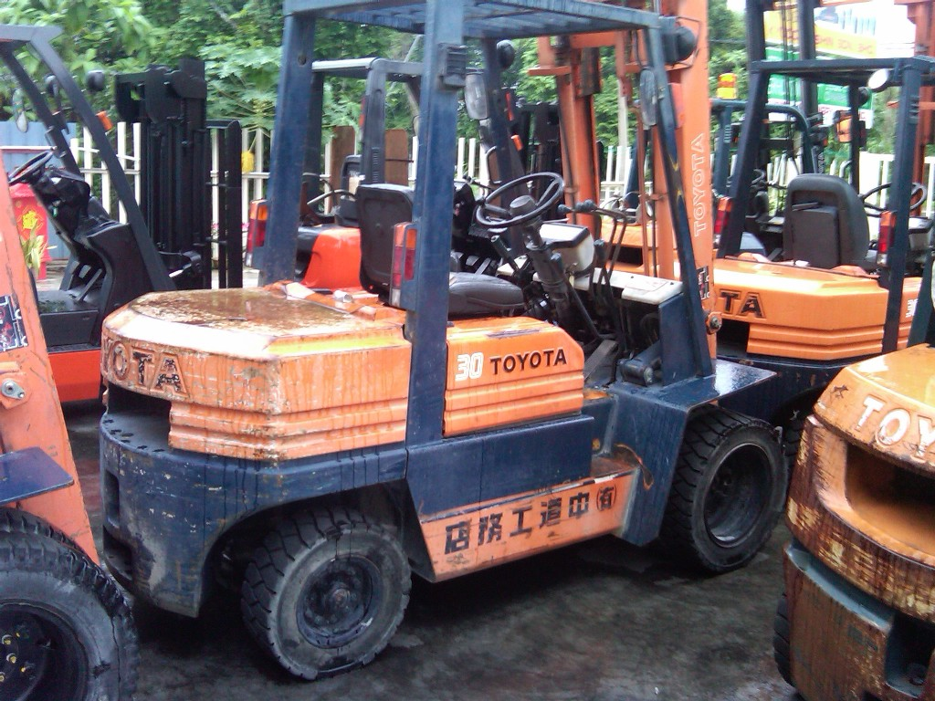 Forklift Transmission Parts : Toyota diesel power forklift supplier selangor fd