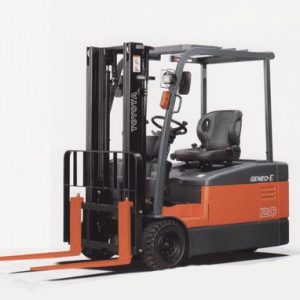 3 Wheeler Battery Power Forklift - 01