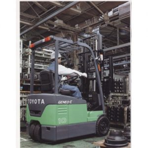 3 Wheeler Battery Power Forklift - 03