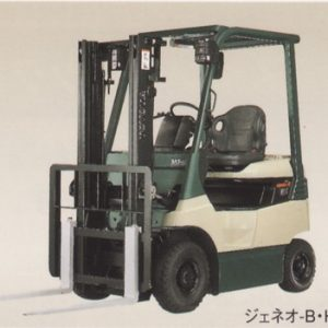 4 Wheeler Battery Power Forklift - 01