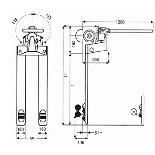 Hand Pallet Truck - HPT25 - 2