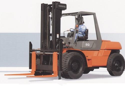 Heavy Duty Forklift - Toyota FD80