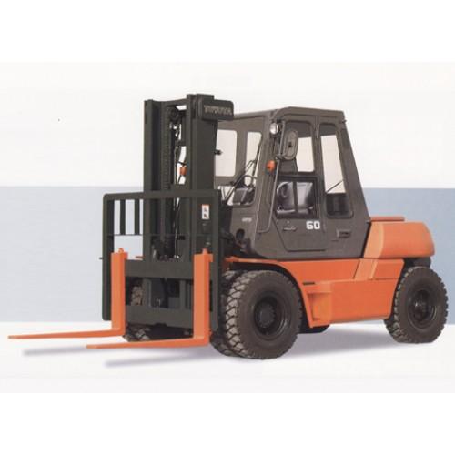 Steel Cabin Heavy Duty Forklift
