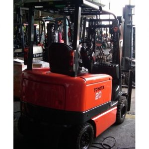 Toyota 6FB20 Electric Engine Forklift