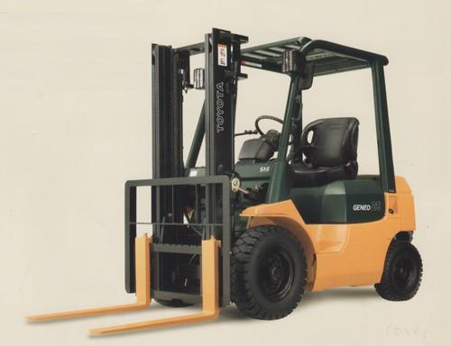 Toyota Engine Power Forklift - Geneo 25